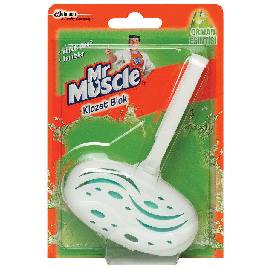 Mr.Muscle Klozet Blok 40gr
