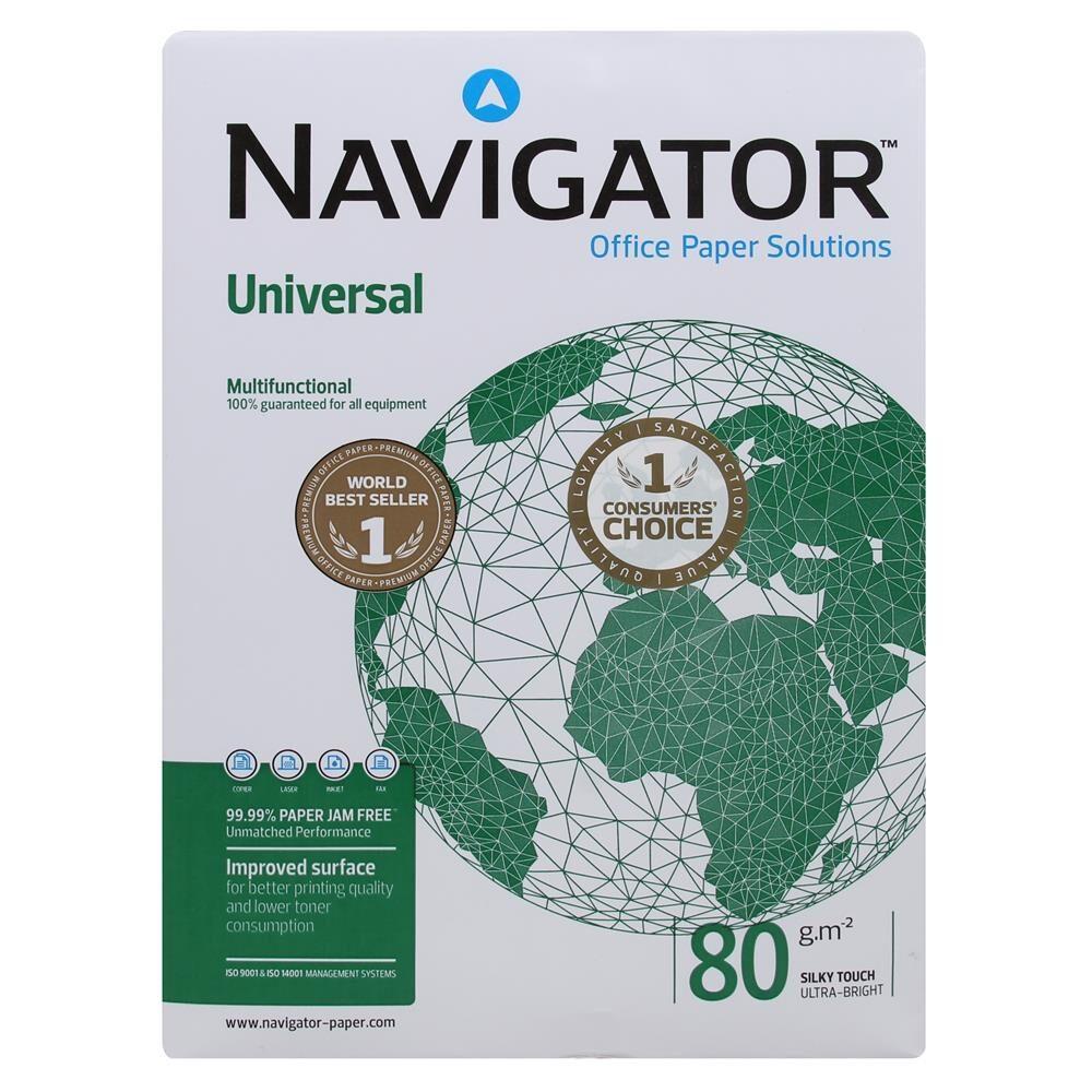 Navigator A4 Fotokopi Kağıdı 80gr 2.500lü Koli